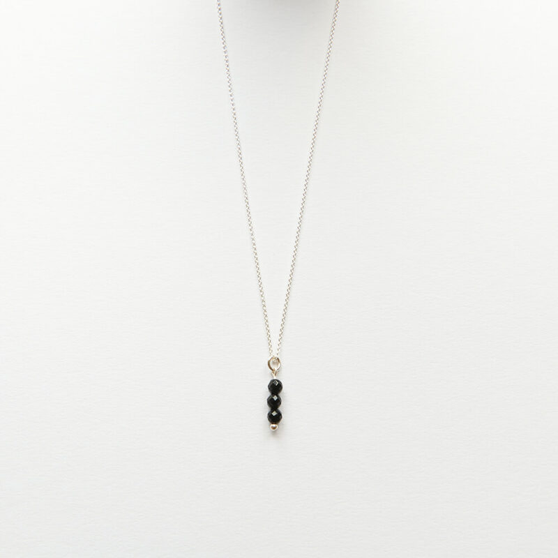 Necklace - Little Stone, Silver